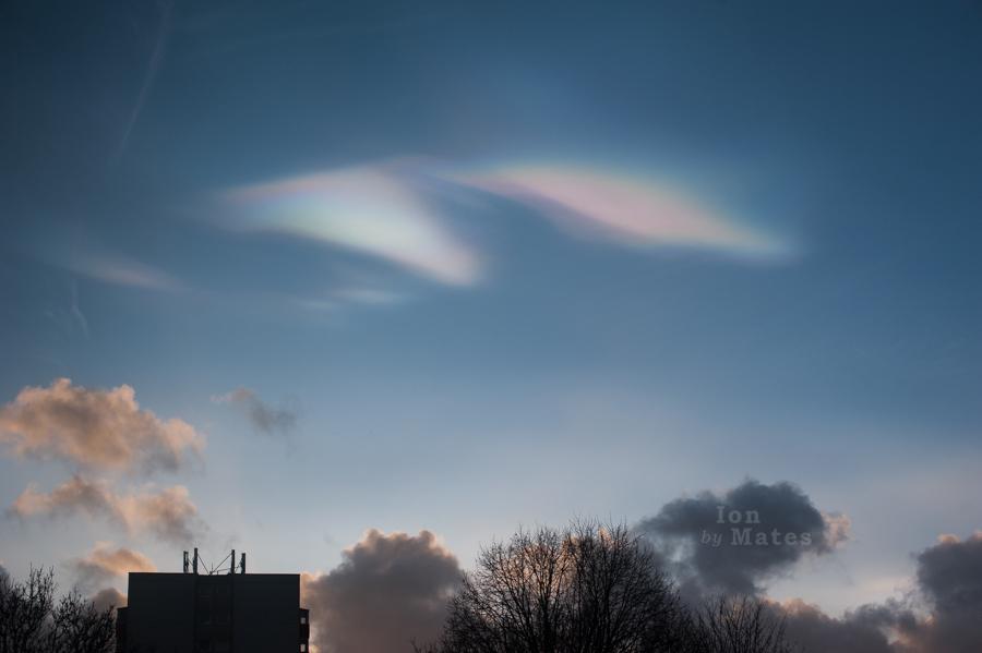 Nacreous clouds in Birmingham