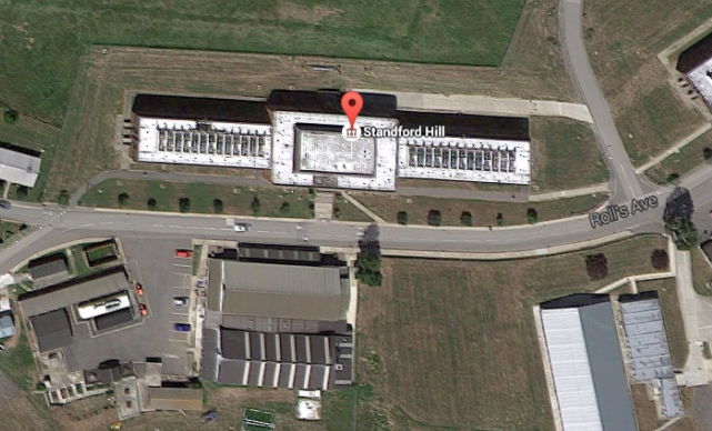 Standford Hill via Google Earth