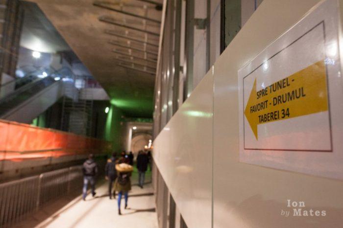 Metrorex Statia Favorit Tunel