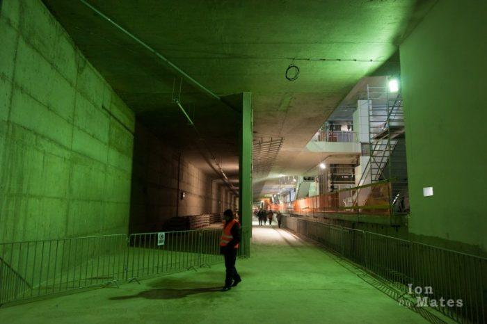 Metrorex Statia Favorit Tunel verde